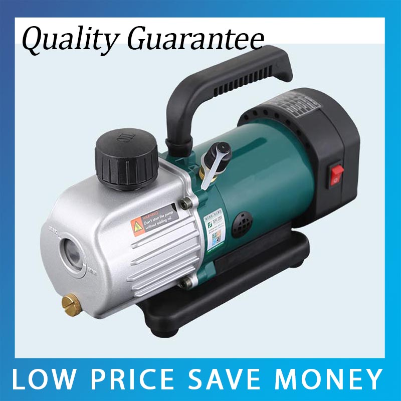 PVC-2M Single-stage Refrigeration Pump Refrigerator Repair Tool Rotary Vane Vacuum Pump tw 4a single stage 4 l rotary vane type portable vacuum pump with a single stage