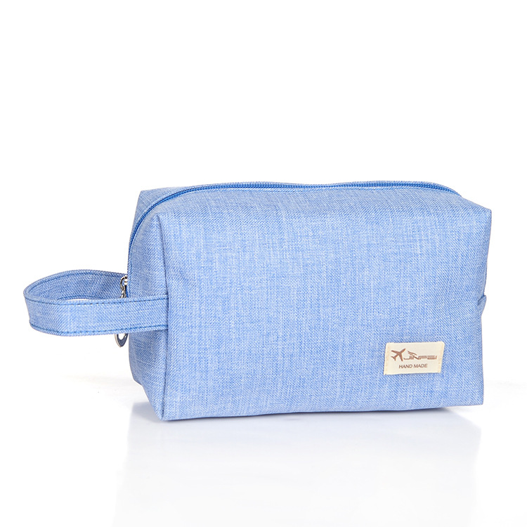 Fashion Brand Small Cosmetic Bags Waterproof Neceser Portable Make Up Bag Women Frosted cloth Pouch Travel Toiletry Bag Blosa