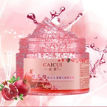 Pomegranate Essence Sleep Mask Hydrating Face Masks Nourishing Moisturizing Anti Wrinkle Aging Whitening Brighten Skin Care Face Mask & Treatments