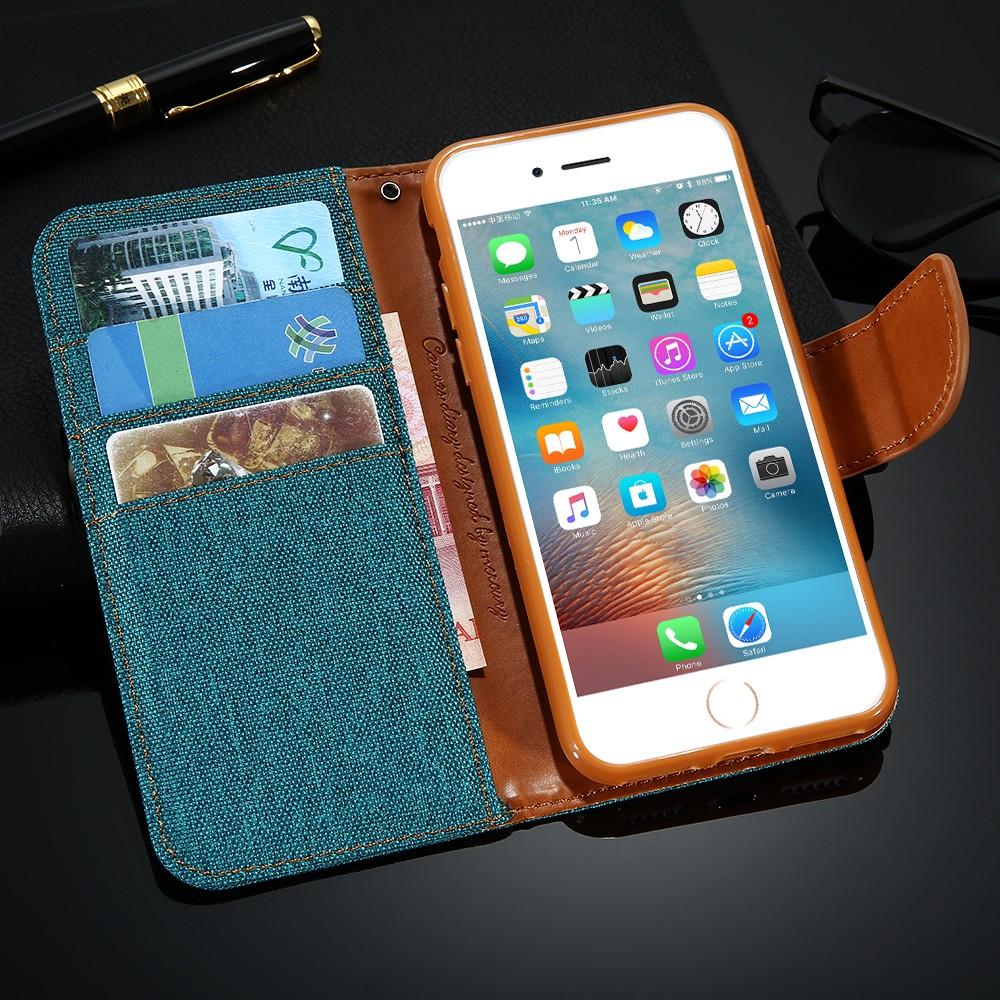 Kisscase stań portfel przerzuć przypadki dla iphone 6 6s 7 5 5S mody hit kolor slot kart skóra pokrywa dla iphone 7 6 s plus z logo 42