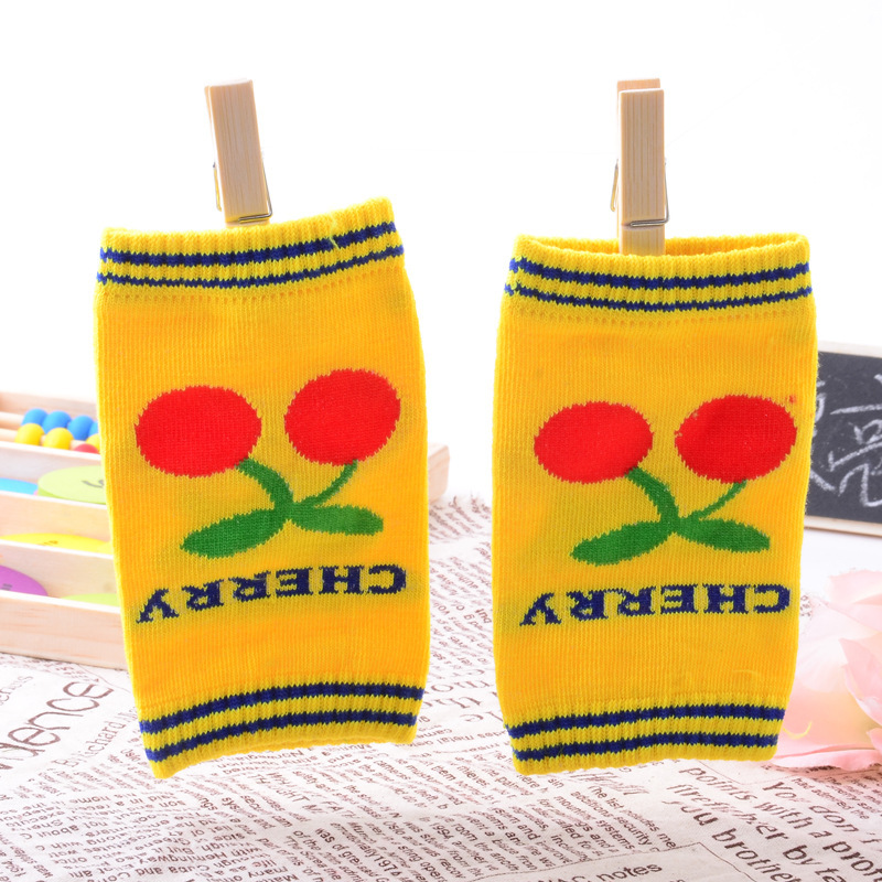2015 New Hot Baby Crawling Short Knee Pads Children Boys Girl Leg Warmers Crochet Elbow Cushion Kneepads For Toddlers Safety