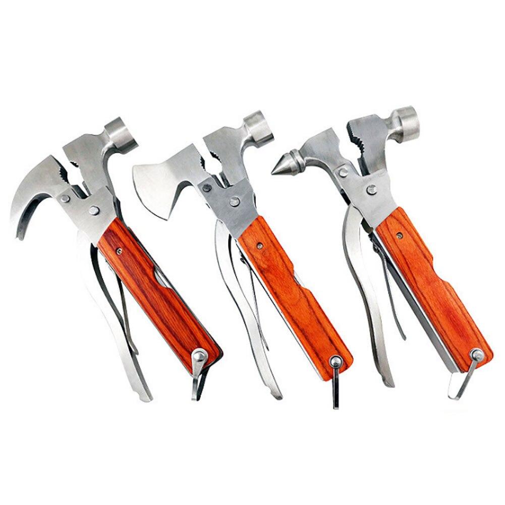 Multitool Outdoor Camping Emergency Survival Tools Hatchet Hammer Plier DTT88 Pliers     - title=