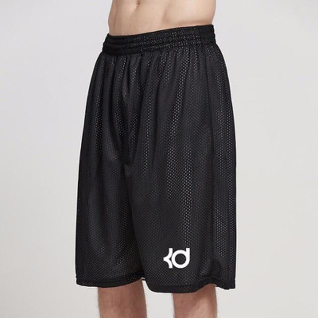 Homme Men's Summer  Double-sided Mesh Knee Length Drawstring Runs Plus Size Shorts