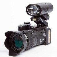 Protax/Поло D7200 цифрового видео Камера 1080 P DV Профессиональный Камера камера с оптическим увеличением 24x плюс светодиодные Налобные лампы 8MP CMOS