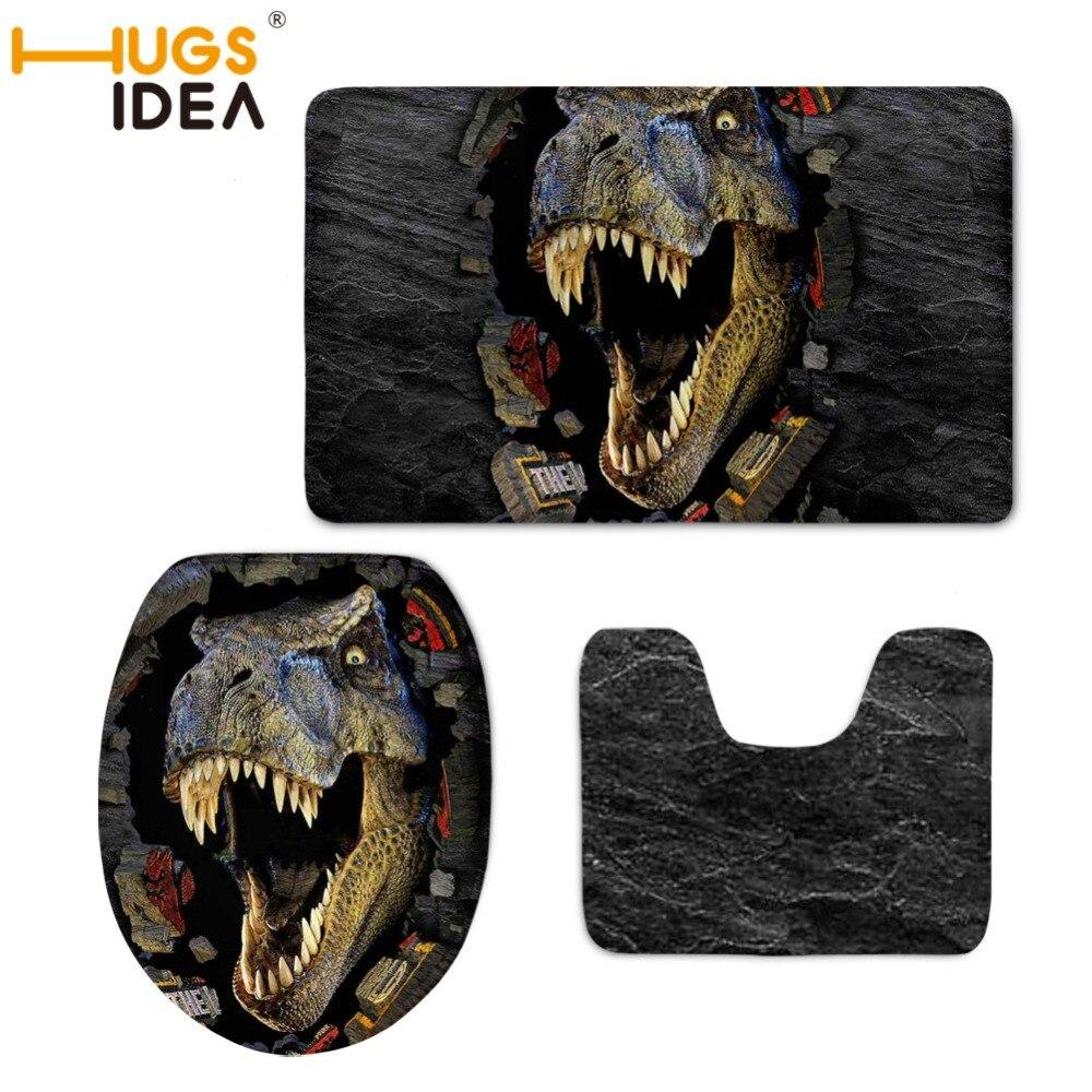 HUGSIDEA 3D Динозавр Туалетні сидіння - Товари для дому