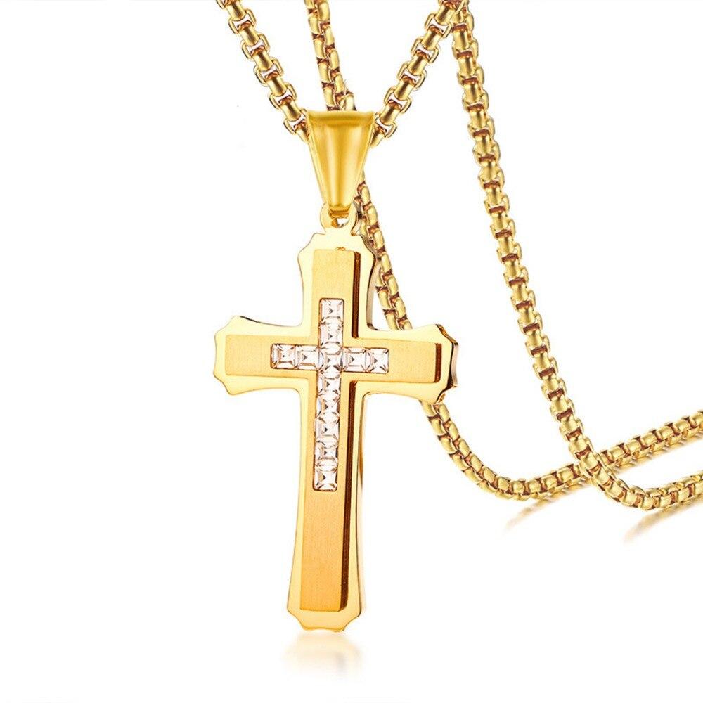 Aliexpress.com : Buy Hip Hop Stainless Steel Cross Pendant
