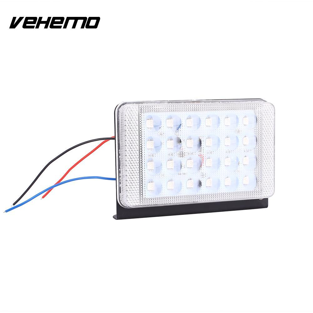 2Pcs/Set 12V 24V Car Vehicle Tail Side LED Strobe Lamp Bulb Turn Warning