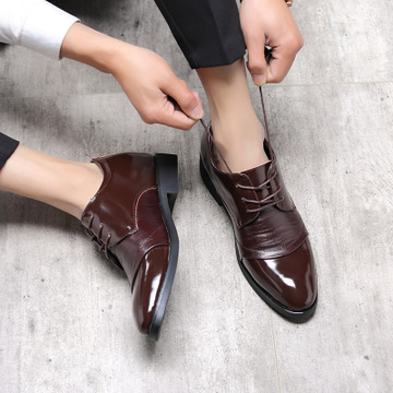 2018 autumn winter within the shoes business leisure British men's shoes to play clothing and accessories shoes 0801