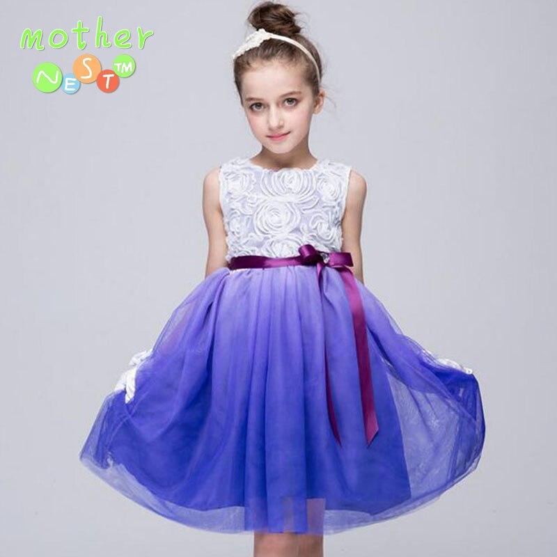 2017 tutu wedding birthday party dresses for girls children 39 s costume