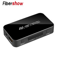 UHD HDMI Switch 2.0 4K HDR 4x1 Adapter Switcher with Audio Extractor 3.5 jack optical fiber cable ARC splitter for HDTV PS4