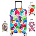 Thickening Elastic Suitcase Cover Fashion Luggage Protective Sleeve Trolley Bags Cover for Dust 20/24/26/28 inch