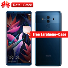 "Compagnon 10 PRO 6 GB RAM 64 GB ROM 6.0 ""Kirin 970 2160×1080 3 Caméras NFC D'empreintes Digitales Rapide Charge 4G LTE Smartphone"