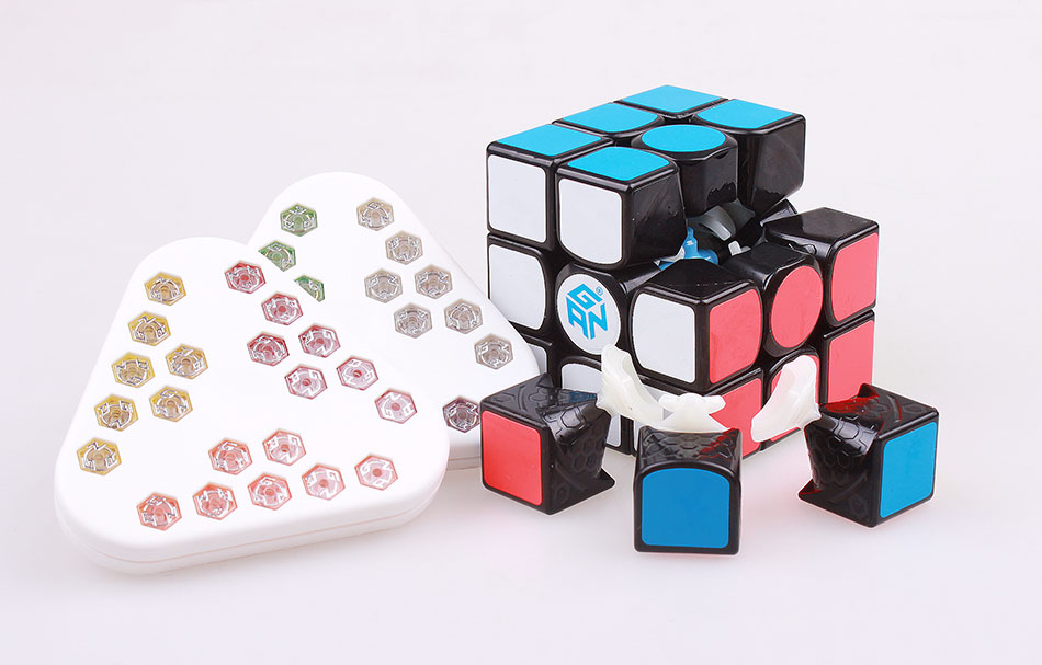 цена на GAN 356 Air SM 3x3x3 Magnets Stickers Magic Speed Cube Professional gans Cubo Magico Gan356 Air Puzzle Cube toys For Children