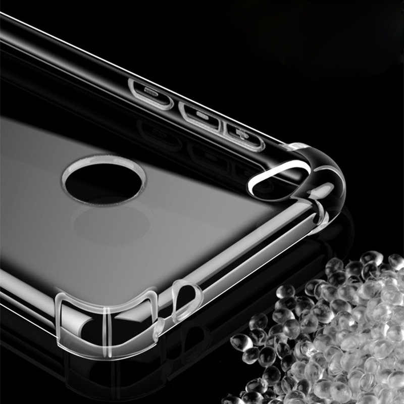À prova de choque Transparente Caso Soft Phone Para Huawei Honor V20 8A 8X Jogar Max Nota 10 P30 Pro Companheiro 20 Lite y5 Y6 2 P8 Lite 2017 Casos