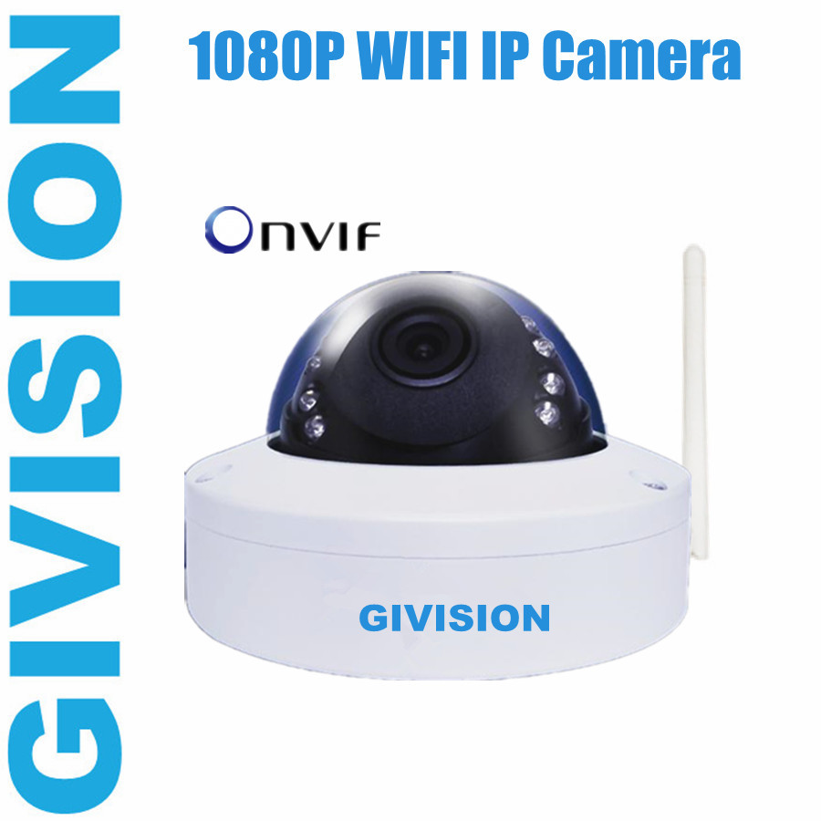 Onvif mini ip camera 1080p 2mp hd wireless ir dome wifi - Camera ip wifi exterieur hd ...