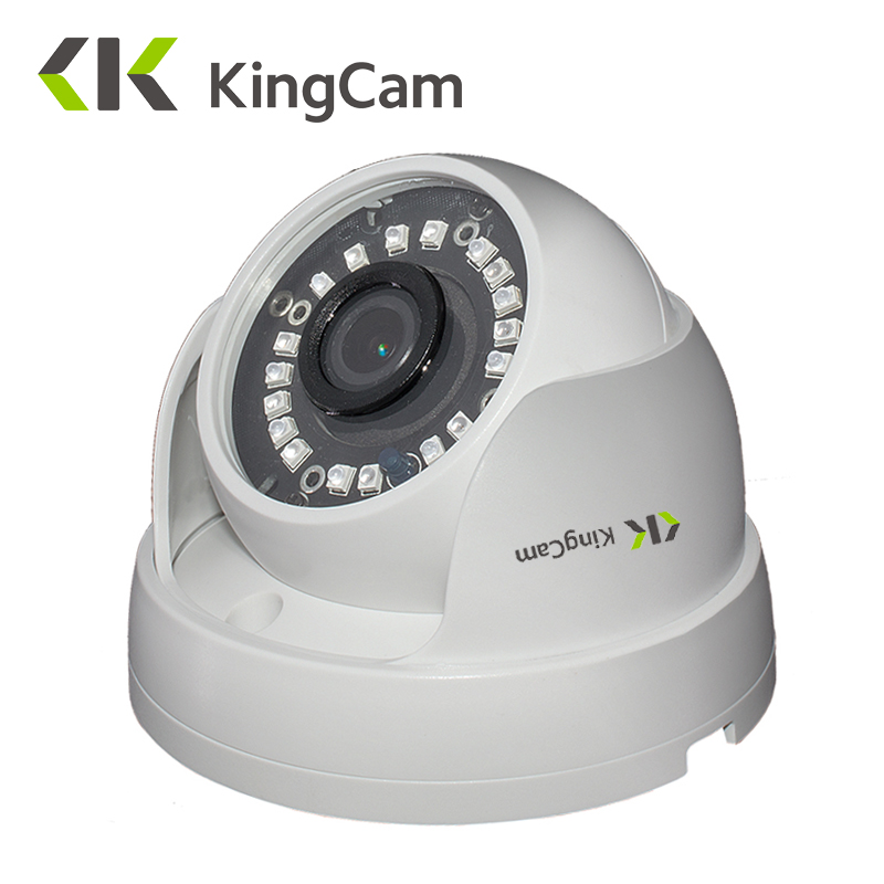 KingCam Dome  IP Camera 1080P 960P 720P Security indoor Day/Night  View Home CCTV ONVIF Network CCTV Surveillance Cameras ipcam escam p2p dome ip camera onivf home security cctv smart phone view