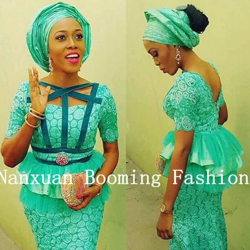 Latest African Dresses Styles Lace
