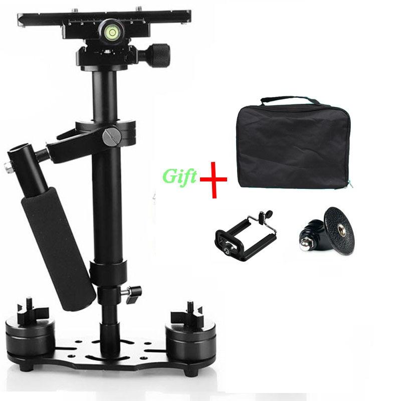 Steadicam S40 Handheld Camera Stabilizer Steadycam font b Video b font Steady DSLR Estabilizador Cameras Compact