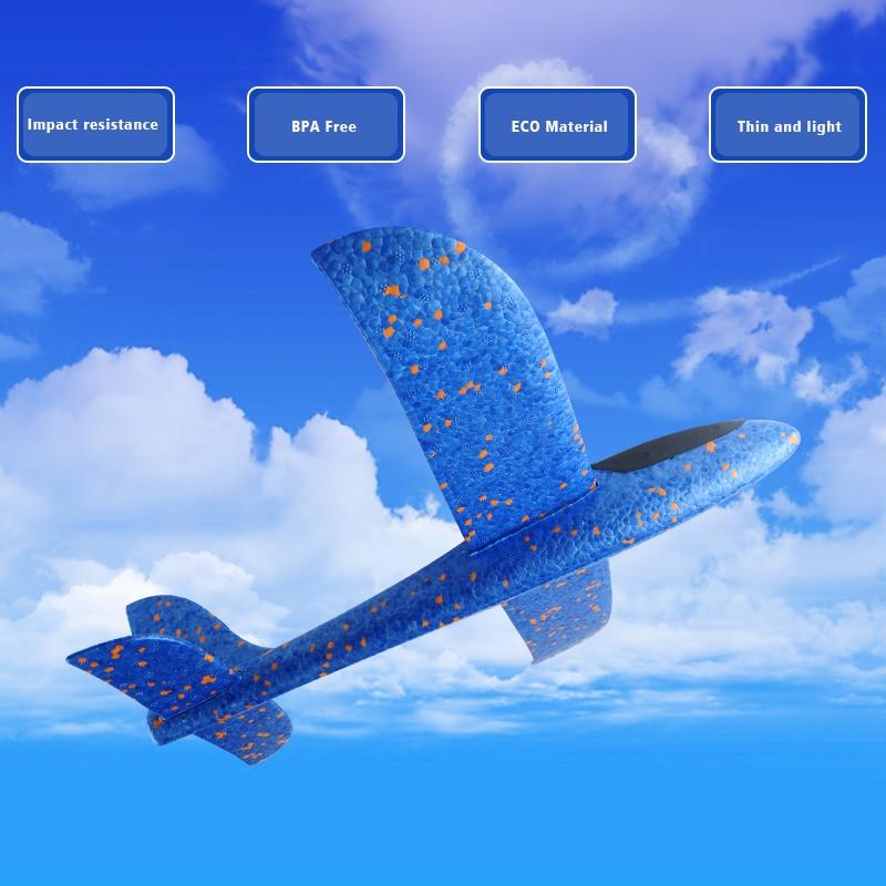 Handlansering glidflygning sportspel kasta glidflygplan i EPP - Skola och pedagogiska förnödenheter - Foto 2