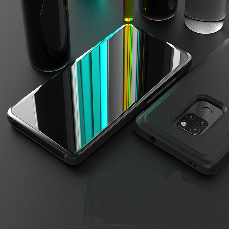 Luxury Smart Mirror <font><b>Flip</b></font> Cover Phone <font><b>Case</b></font> for Huawei Mate 8 <font><b>9</b></font> 10 20 pro <font><b>Lite</b></font> P9 P10 P20 pro <font><b>Honor</b></font> 9i <font><b>lite</b></font> Play Note 10 V10 V20 image