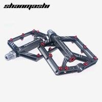 Shanmashi Aluminium Alloy Bicycle Pedal Ultralight Cycling 8 Bearings Non Slip XC DH Vtt Mtb Mountain