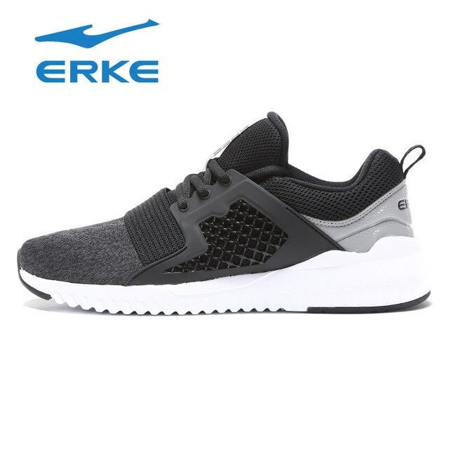 Ерке Новое поступление Для мужчин бег Обувь с дышащей сеткой Спортивная обувь мужской спортивный Обувь кросс-тренинга Обувь кроссовки Обувь для прогулок 2018
