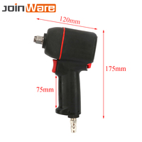 Industrial 1/2 Pneumatic Air Impact Wrench Repair Power Tool Car Repairing Wrenches Tools 10000RPM Torque 600ft/lbs