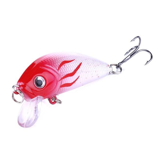 Amazing HENGJIA Minnow Fishing Lures 5cm 3.6g Fishing Lures cb5feb1b7314637725a2e7: 1|2|3|4|5|6|7|8|9