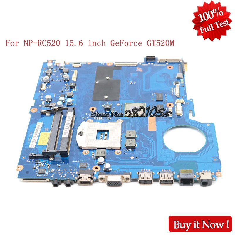 NOKOTION BA92-08079A BA92-08079B For samsung NP-RC520 RC520 15 inch laptop motherboard HM65 DDR3 GeForce GT520M 1GB