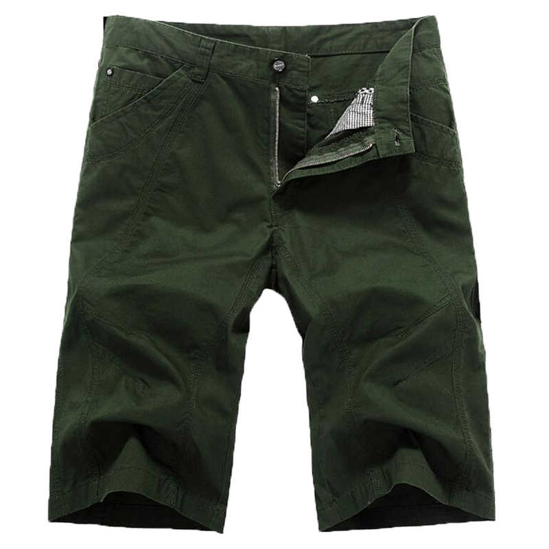 Pantalones Cortos Deportivos para Hombre Casual Cintura el/ástica con Bolsillos con Cierre de cord/ón de algod/ón 3//4 MAGCOMSEN Pantalones de ch/ándal