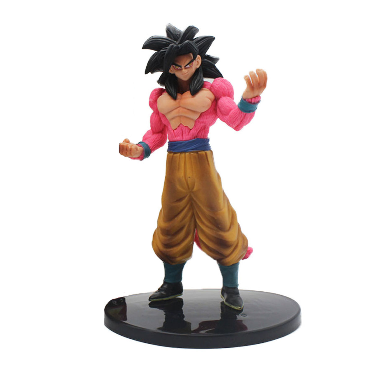 Chanycore 18CM Anime Dragon Ball Z Son GOKU Super Saiyan 4 Action Figures crystal balls PVC Limit Boxed For Kids Gift Toy 0386 1 pcs anime dragon ball z toy figure super saiyan goku pvc action figures big size dragonball model toys for boys kids wholesale