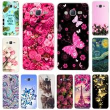 Cute Cat Soft TPU Case For Samsung Galaxy J2 Prime G532F Cover Silicone Phone Case Bumper For Samsung Galaxy J2 Grand Prime 2016 все цены