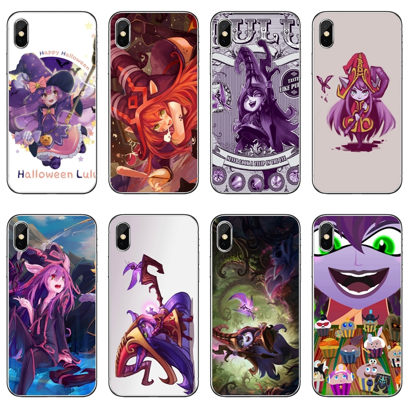 Us 1 99 Game Lol Mid Lulu League Of Legends For Huawei Mate 20 10 Lite Pro 9 8 Y9 Y7 Y6 Prime 2018 2019 Nova 2i 3 3i Case In Half Wrapped Cases From