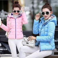 Mozhini Spring Parkas Jacket Women Winter Coat Lady Cotton Padded Warm Jacket Coat Winter Warm Over