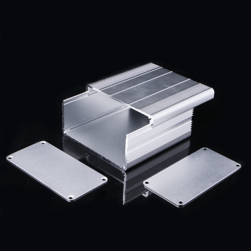 DIY Aluminum Enclosure Case Electronic Project PCB Instrument Box 100x100x50mm extruded aluminum enclosure case electronic project diy pcb instrument box for holding circuit board 100x100x50mm