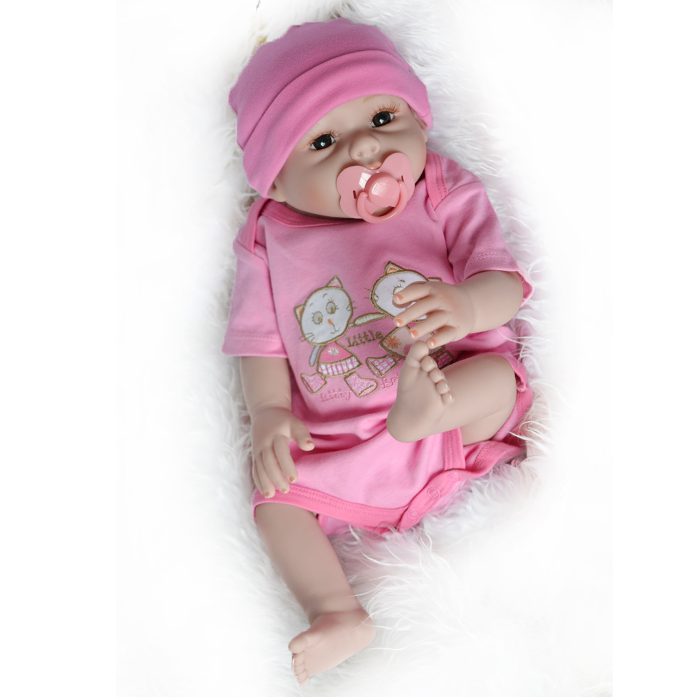 Baby Reborn Dolls Soft Silicone Handmade Full Silicone Vinyl Body Reborn Babies Doll Toys for Children Best Gifts Brinquedos 23 real baby dolls handmade full silicone reborn doll alive soft vinyl baby princess dolls toys for girls children kid gifts