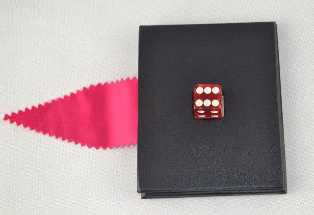 Dice Thru Mirror  - Magic trick,close up magic,card magic,appearing magic,Mentalism