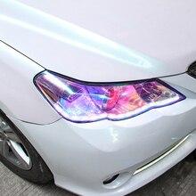 100cm*30cm Automotive chameleon headlamp film color change motorcycle lamp Change Color Tint Car Film Stickers