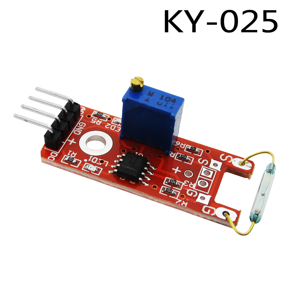 HAILANGNIAO KY-025 4pin BETR Magnetic Dry Reed Pipe Switch Magnetron Sensor Module DIY KY-25