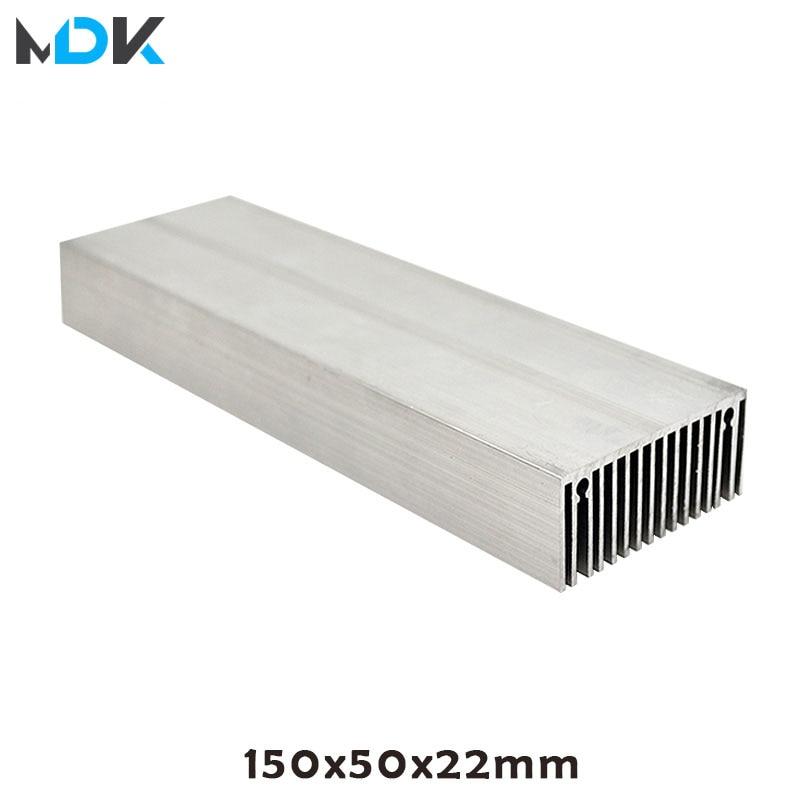 Bricolage haute puissance LED en aluminium radiateur radiateur radiateur bricolage 9 W 15 W 18 W 30 W 60 W lumière LED pour aquarium, bricolage LED pousser la lumière