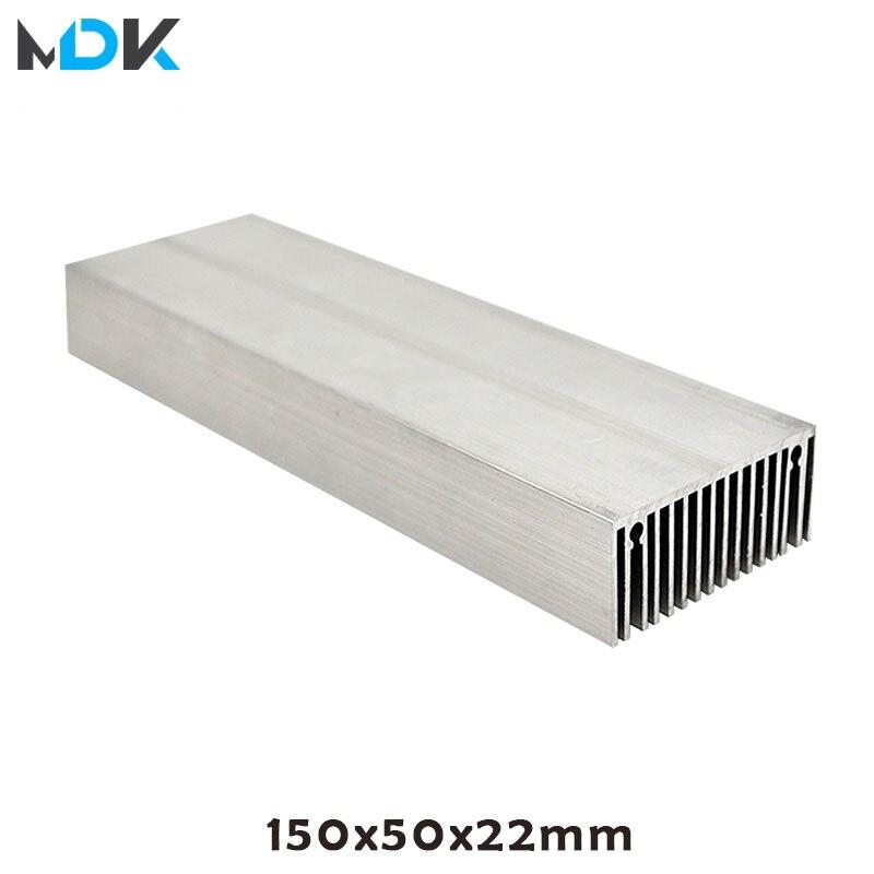 Radiateur en aluminium bricolage, bricolage, haute puissance radiateur en aluminium radiateur à chaleur bricolage 9W 15W 18W 30W 60 W, bricolage lumière de croissance