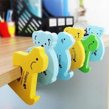 5pcs/lot Baby Safe Doorways Finger Pinch Guard Fence Lock The Stopper For Doors Baby Protector Cartoon Kids Safety Doorway #94
