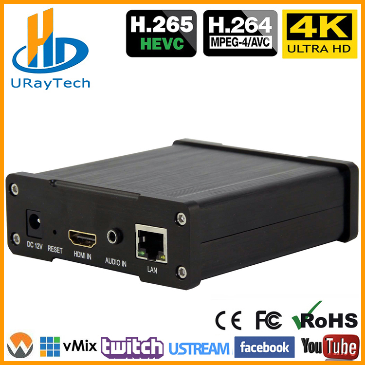 Best H 265 H 264 4K UHD HDMI Video Encoder For Live Stream Broadcast Support HTTP RTSP RTMP UDP RTP For Live Stream Broadcast in Radio TV Broadcast Equipments from Consumer Electronics
