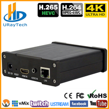 Best H.265 H.264 4K UHD HDMI Video Encoder For Live Stream Broadcast Support HTTP RTSP RTMP UDP RTP For Live Stream Broadcast hevc h265 hdmi to ip stream encoder wifi hdmi encoder iptv h 265 hdmi rtsp encoder support http rtsp rtmp udp