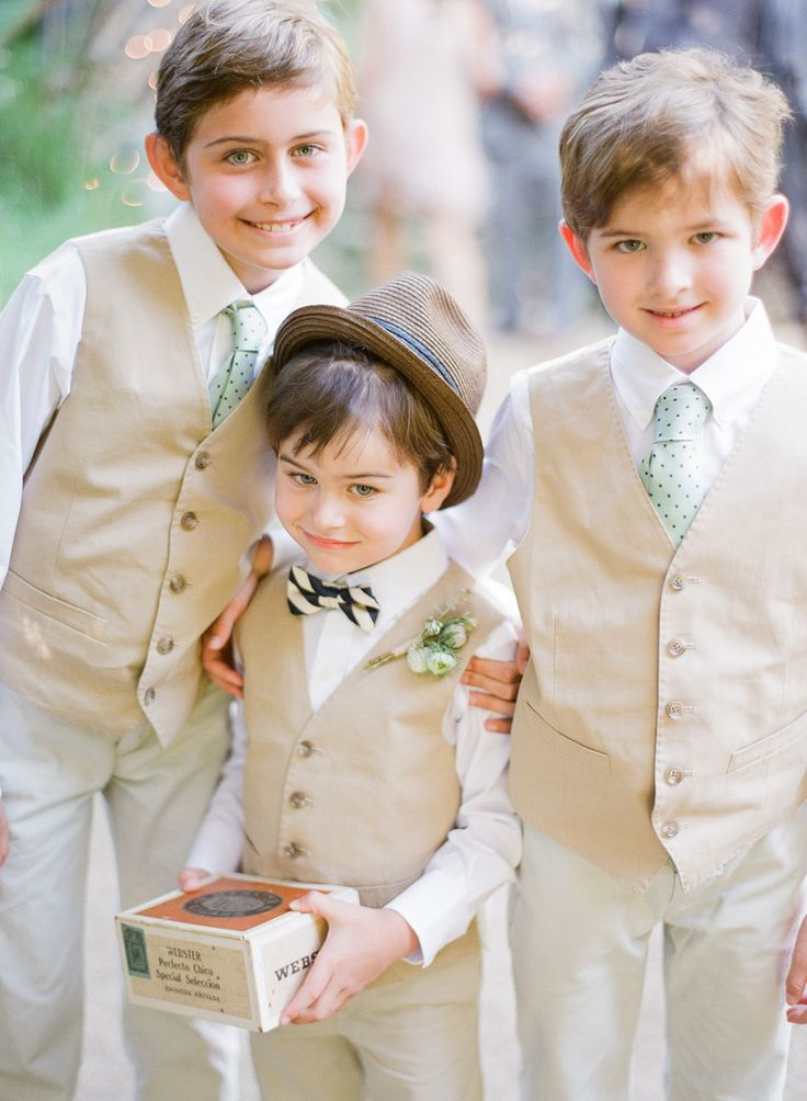 New 2016 Summer Beach Boys Wedding With Clothes White Shirt Pants Vest Nicely Kids Tuxedo Suits Formal Clothing In Attire From Weddings