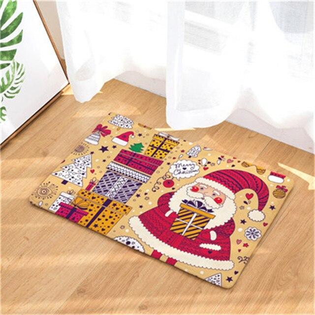 Die Beliebtesten Dekoration Weihnachten Teppich Ohne Schiebe Küche Teppich,  Hause Wohnzimmer Teppich 40x6050x80 Cm