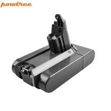 2000 мАч Замена Батарея для Dyson литий-ионный пылесос DC58 DC59 DC61 DC62 V6 965874-02 животного DC72 ручной Батарея L15