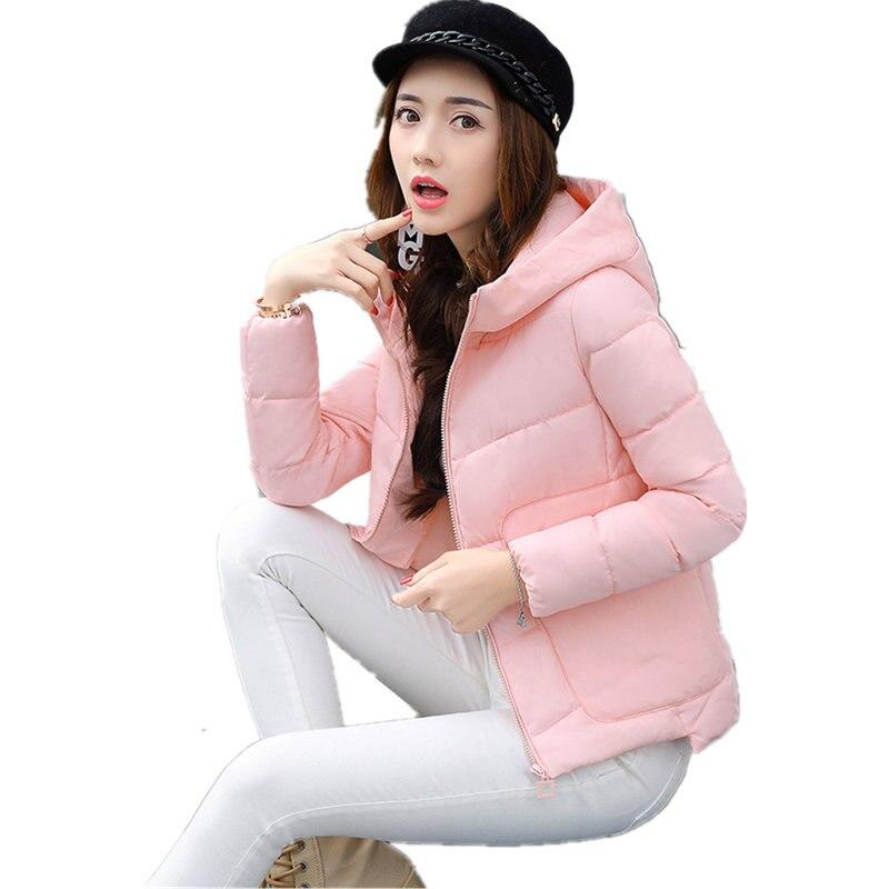 New Winter Jacket Women Hoodies Women's Clothing Fashion Parkas For Women Cotton Coat Jackets Dames Jassen Large Size MZ1866