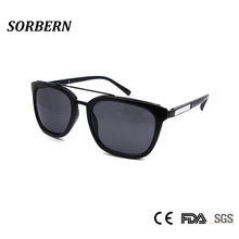 SORBERN Acetate Ladies Square Sunglasses Women Italy Designer Sun Glasses For Female Pilot UV400 Shades Eyewear