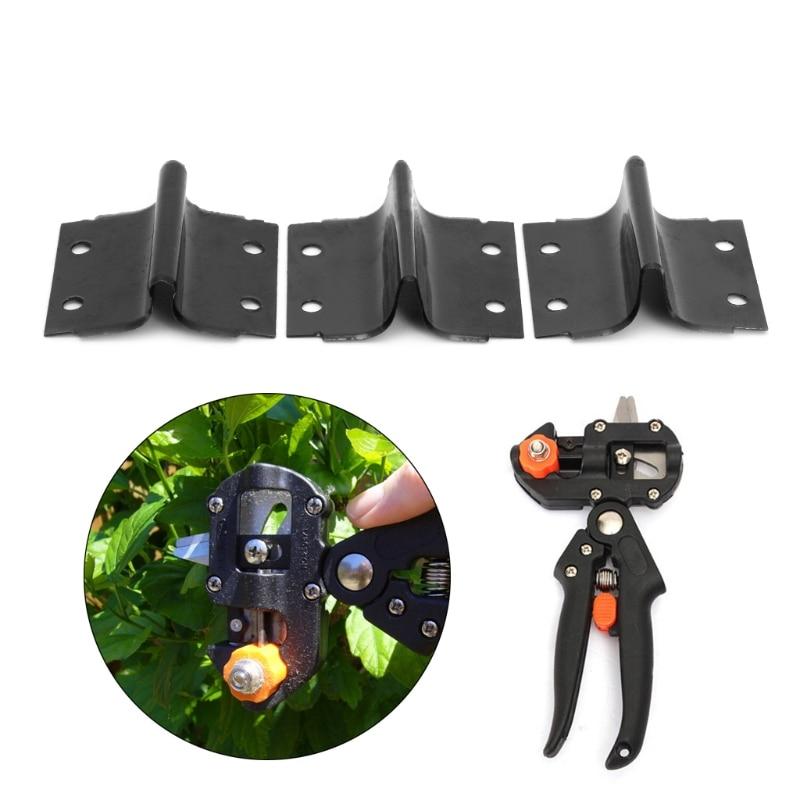 3Pcs/set U/V/Omega Type Steel Blade Garden Grafting Machine Pruning Cutting Tool #Sep.08